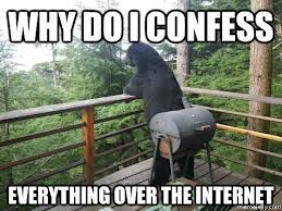Confession meme