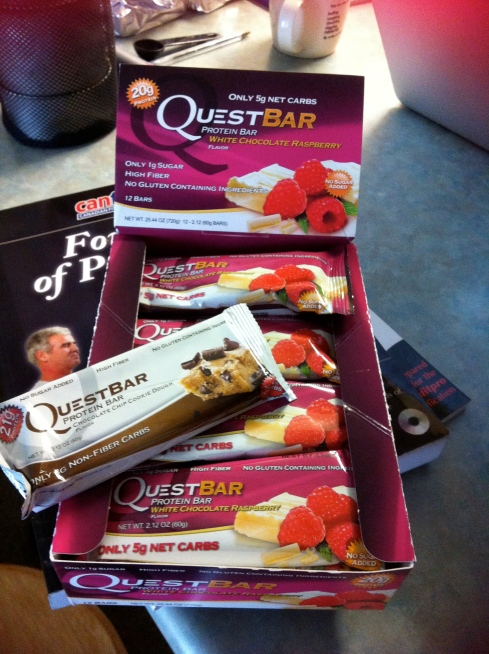 Hello my name is Chelsea and I'm addicted to Questbars...
