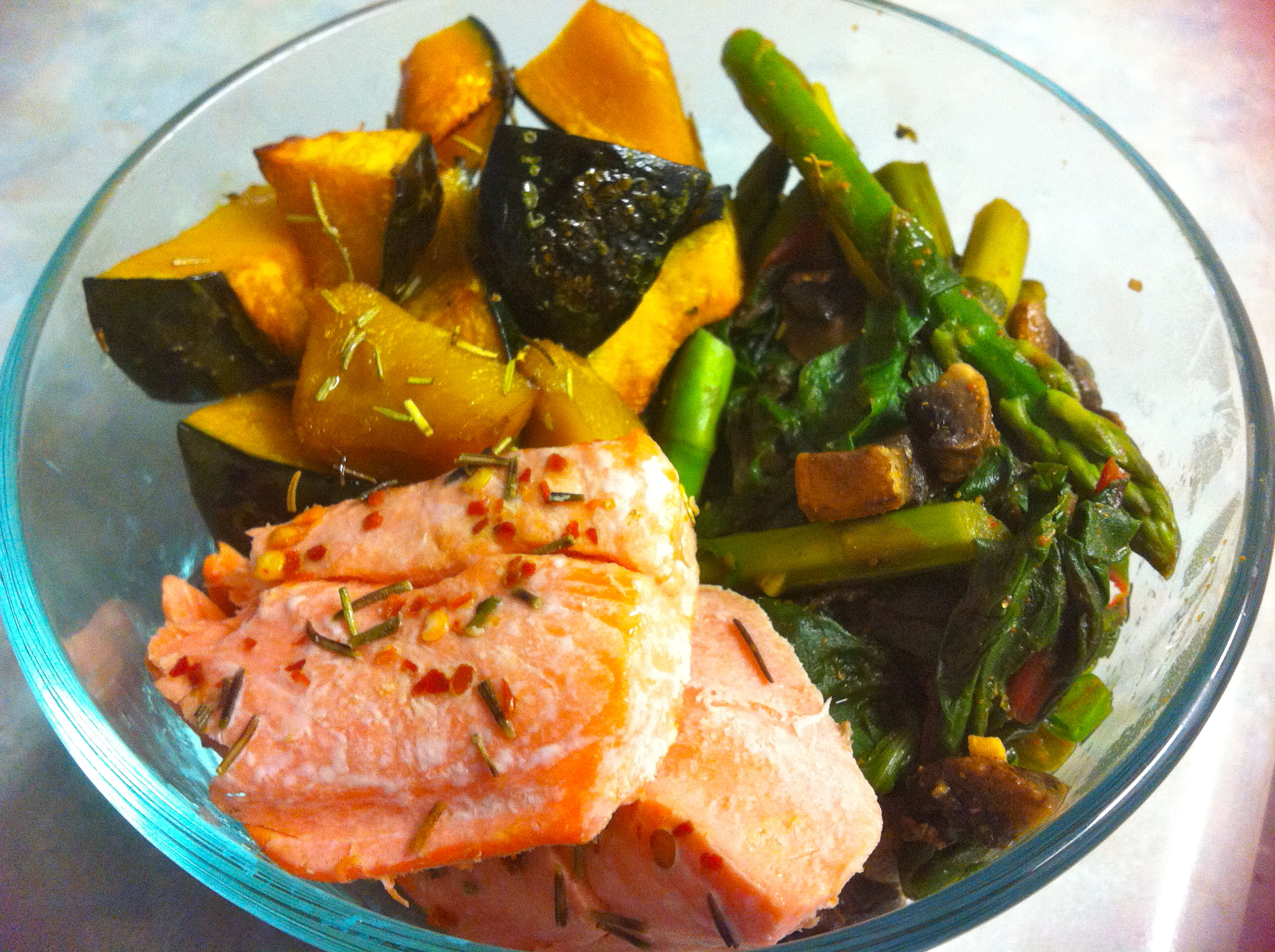 Quick food lil miss fitness freak for Side dishes for baked fish