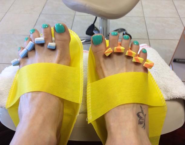 Pedis. Sorry if you hate feet...