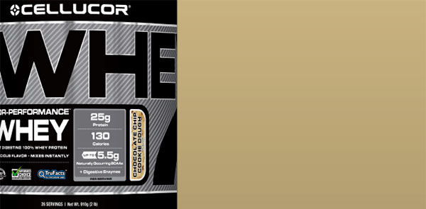 Cellucor release 10th Cor Whey flavor chocolate chip cookie dough