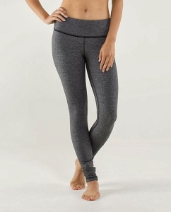 2013 1125 Lululemon Wunder Under Pant Herringbone