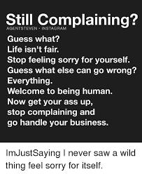 complainin